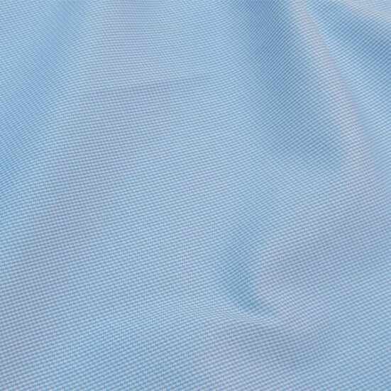 Light Blue Small Houndstooth