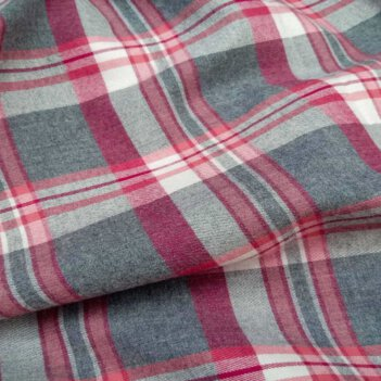 Beacon Flannel shirt Medium Plaid Red And Grey