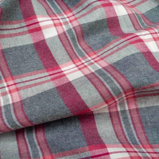 Beacon Flannel shirt Medium Plaid Red And Grey