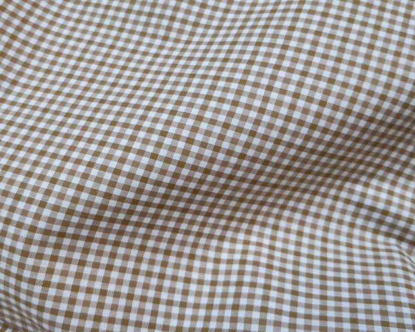 Brown Gingham mens shirt