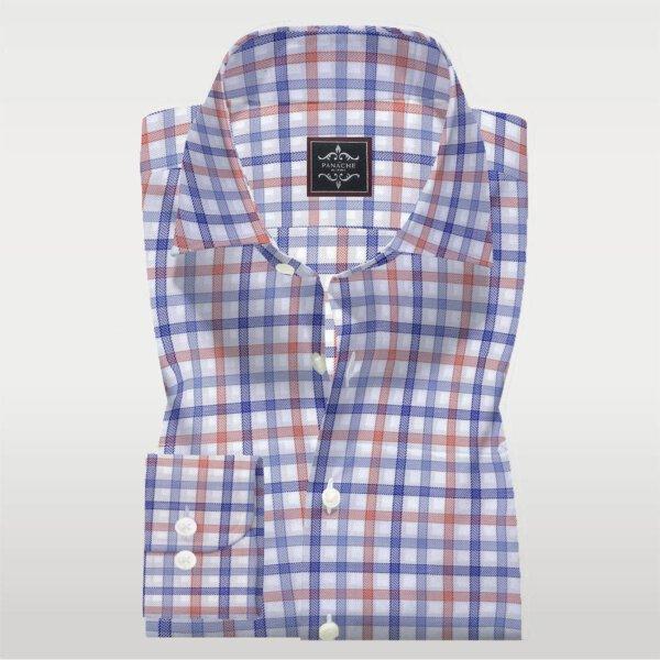 multy check shirt