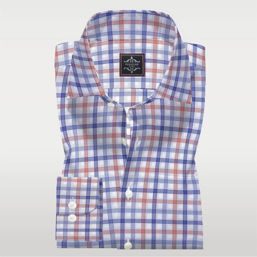 multy check shirt