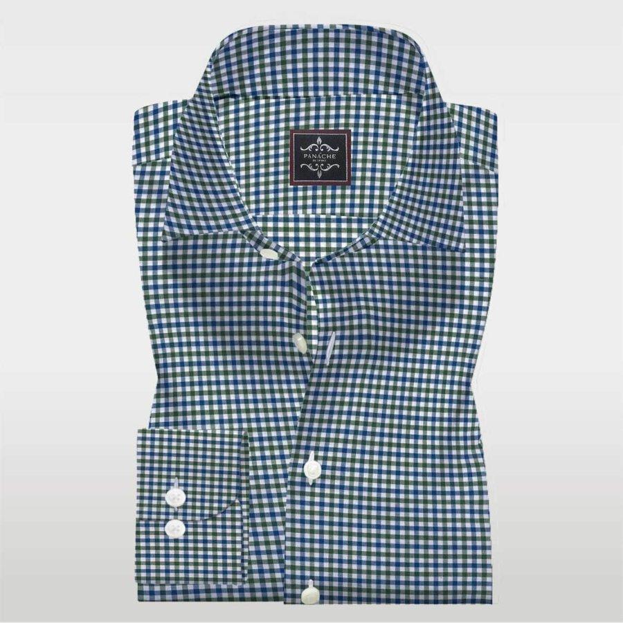 Multi Gingham dress shirt