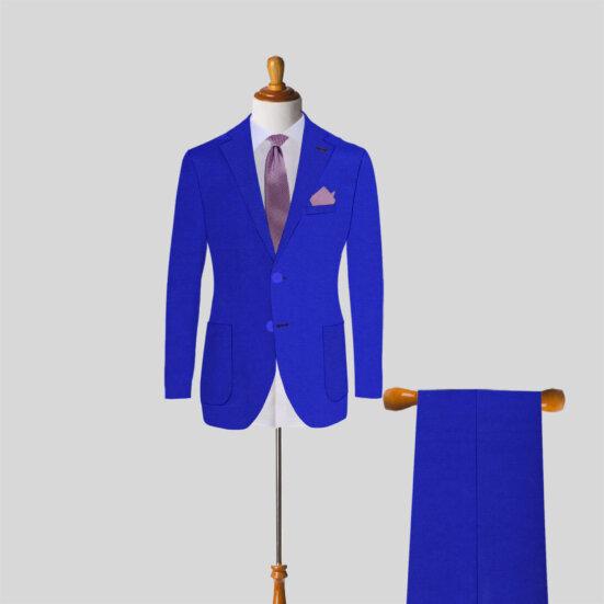 Royal Blue Mens Suit