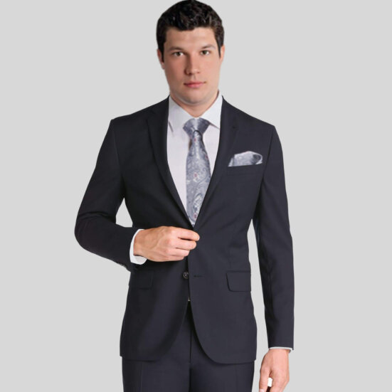 Black Vitale Barberis Suit