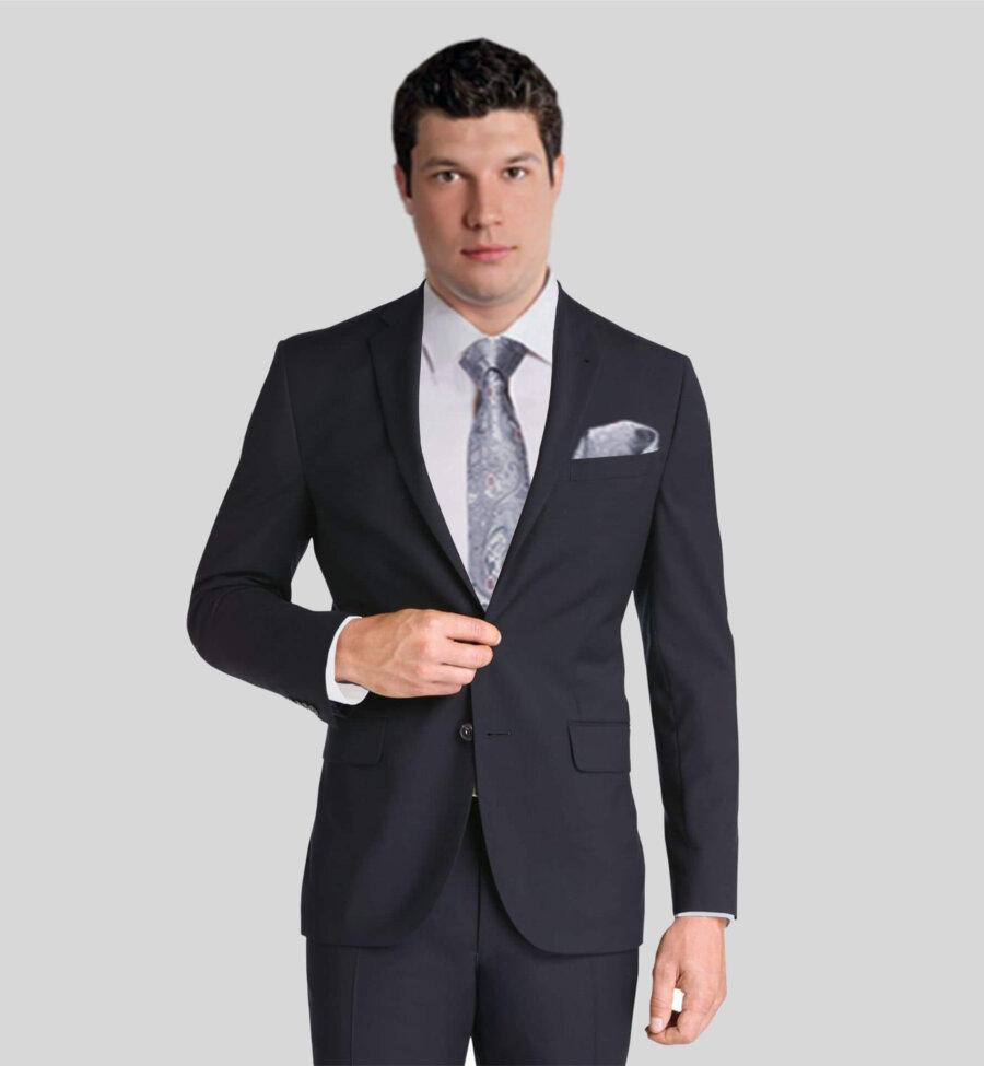 Black Vitale Barberis Suit