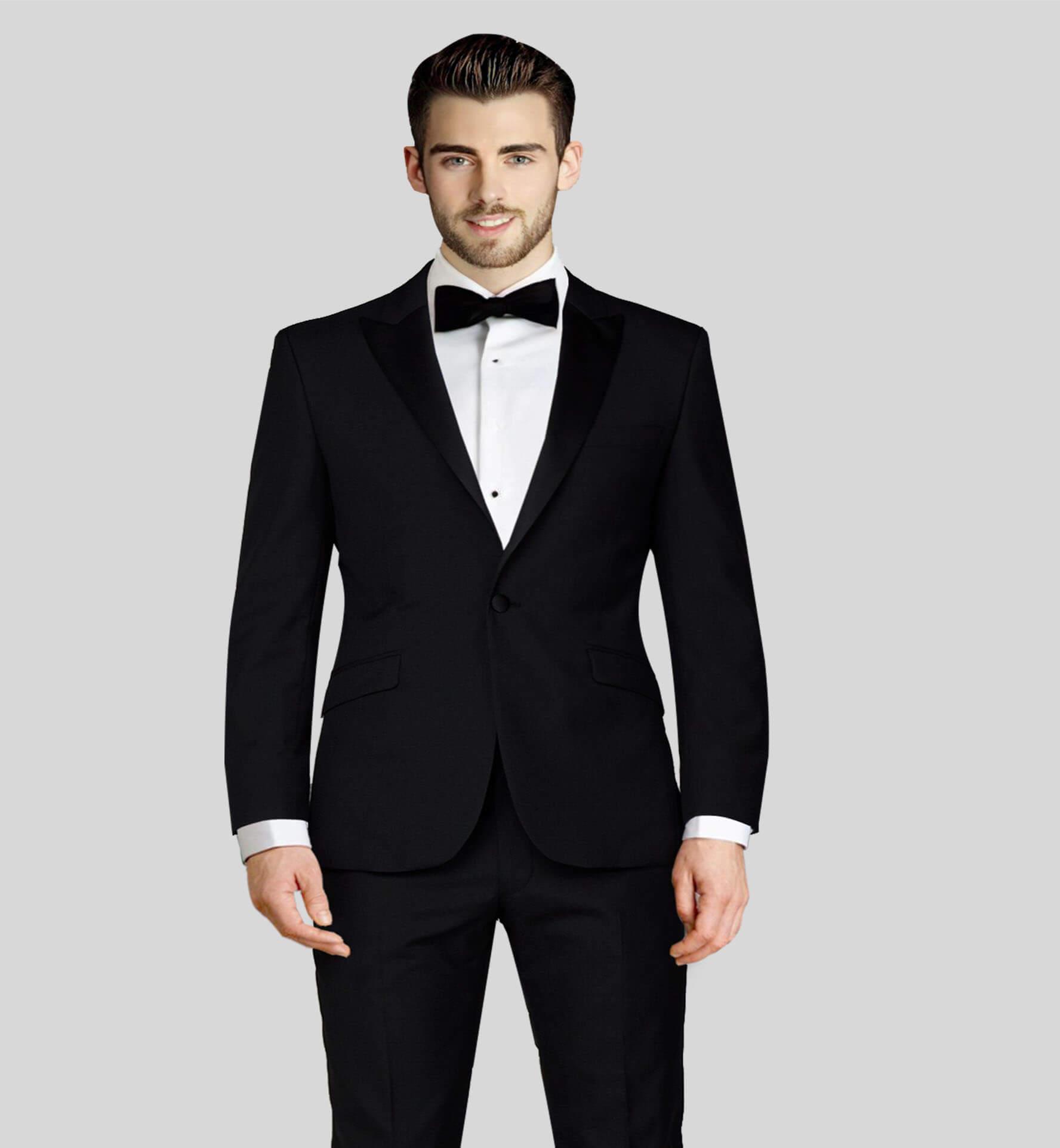 Black Tuxedo Suit Vitale Barberis