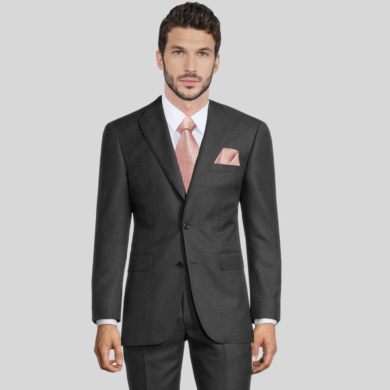 Charcoal Grey Mens Suit