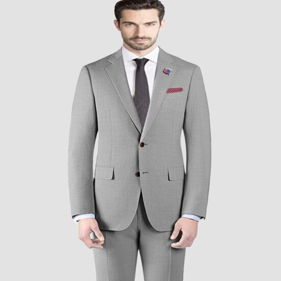Micron Giorgio Vito Light Grey Suit