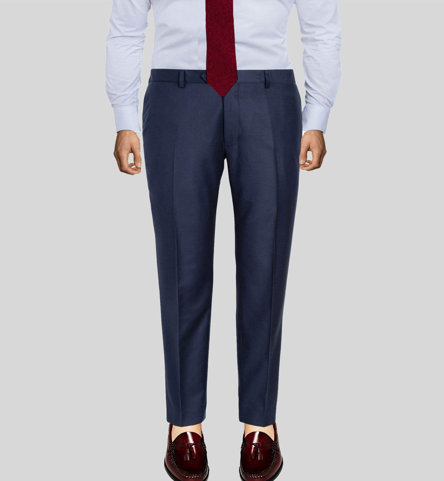 Light Navy Men's Pant Vitale Berberis Dress