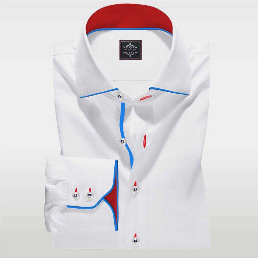 white fashion shirt