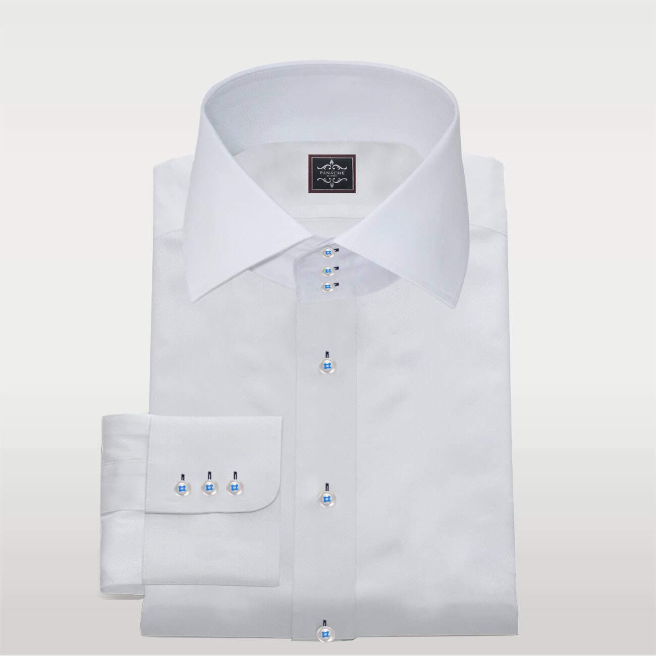 High Collar Dress Shirt