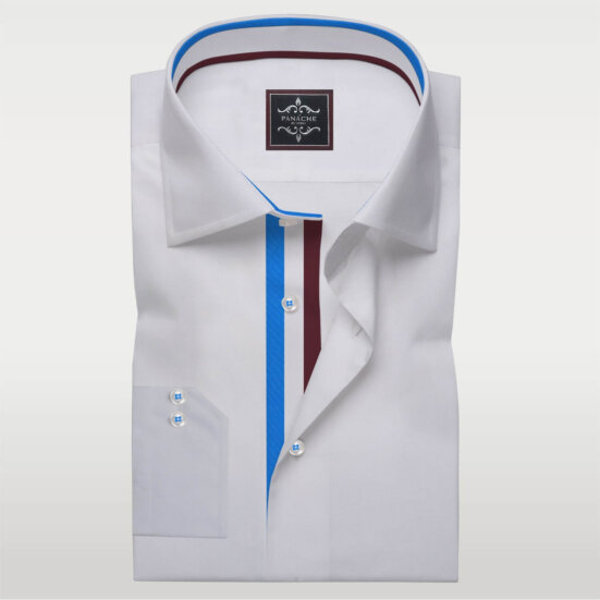 White Fashion Twill Dress Shirt