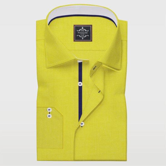 Mens Gold Yellow Royal Oxford Shirt