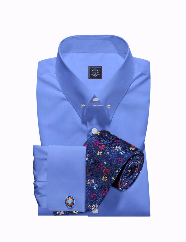 pin collar shirts