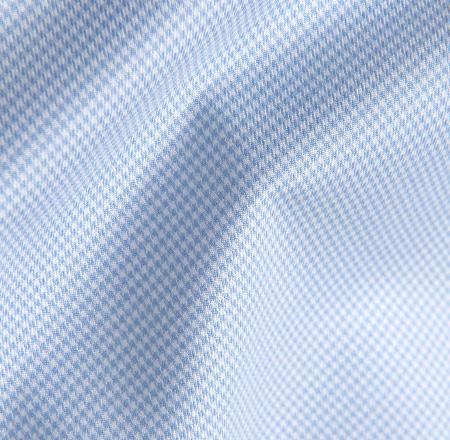 Light Blue Houndstooth Fabric