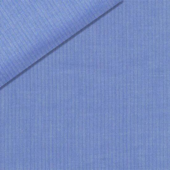 Light Blue Micro Herringbone