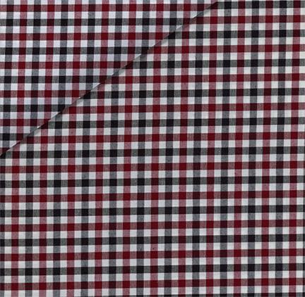 Multi Check Poplin Fabric