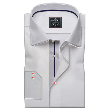 Smart Triming on collar and button Take
