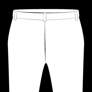 No Back Pocket