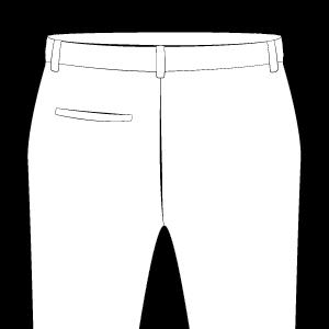 Back Pocket on Left