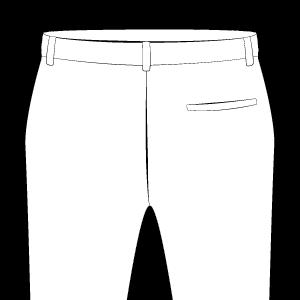Back Pocket on Right