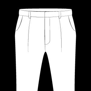 Single Standard Pleats